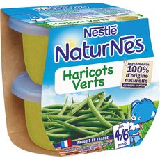 Nestlé Naturnes bol aux haricots verts dès 4 mois 2x130g
