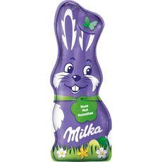 MILKA Lapin chocolat au lait et noisettes  95g