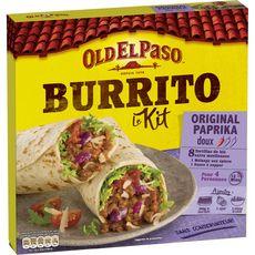 Old El Paso OLD EL PASO Kit pour burrito au paprika - doux