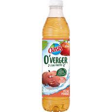 OASIS Oasis O'Verger Eau aromatisée pêche pomme sans sucres ajoutés 1,2l 1,2l