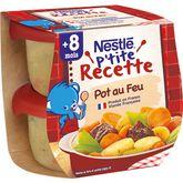 Nestlé Nestlé P'tite recette bol pot au feu dès 8 mois 2x200g