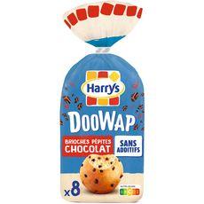 DOOWAP Brioches sans additifs aux pépites de chocolat 8 pièces 320g