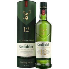 Glenfiddich Scotch whisky single malt 12 ans 40% 70cl
