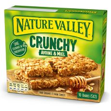 Nature Valley NATURE VALLEY Crunchy barres de céréales avoine et miel