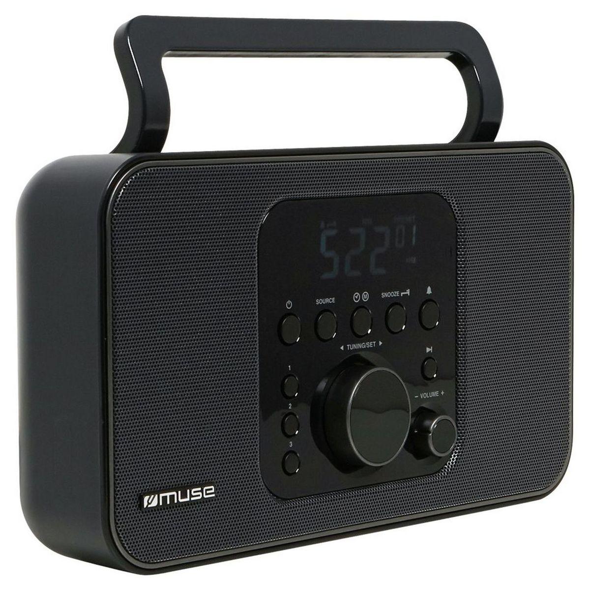 Radio portable analogique - Noir - M-091R