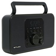 MUSE Radio portable analogique - Noir - M-091R