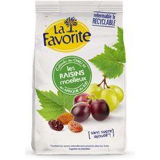 La Favorite Duo de raisins secs moelleux et fondants 250g