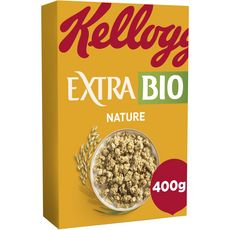 KELLOGG'S Extra céréales au chocolat nature bio 400g