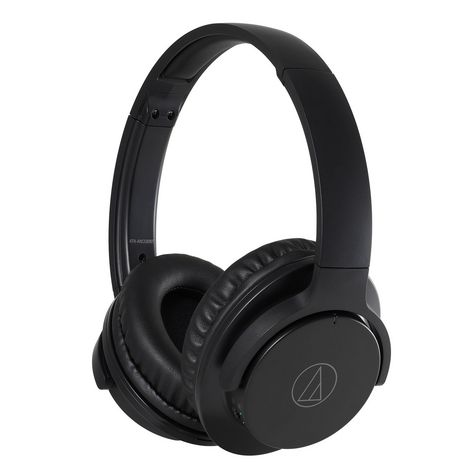 AUDIO TECHNICA Casque audio Bluetooth - Noir - ATH-ANC500BT