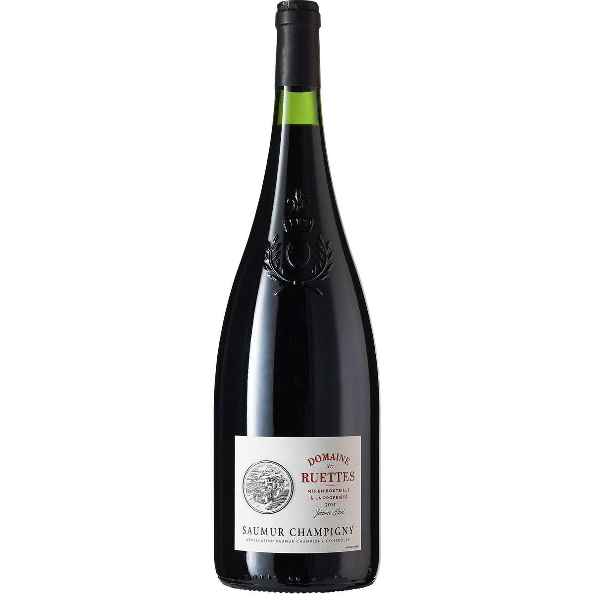 AOP Saumur-Champigny Domaine des Ruettes Magnum rouge 2017