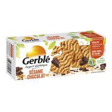 GERBLE Biscuits au sésame et chocolat 180g