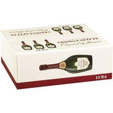 Charles Lafitte AOP Champagne brut Orgueil de France grande réserve 3x75cl