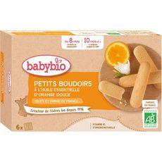 Babybio BABYBIO Boudoirs à l'huile essentielle d'orange douce bio dès 8 mois