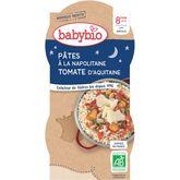 Babybio Babybio Assiette pâtes à la napolitaine dès 8 mois 2x200g