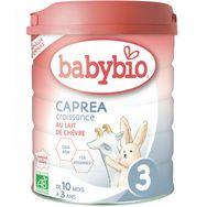 Babybio Babybio Caprea 3 lait croissance au lait de chèvre dès 10 mois 800g