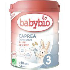 Babybio Caprea 3 lait croissance au lait de chèvre dès 10 mois 800g