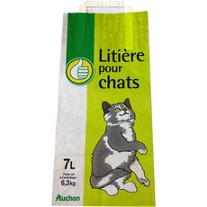 POUCE Litière pour chat 7l