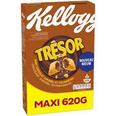 KELLOGG'S Céréales chocolat caramel et cacahuètes 620g