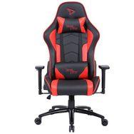 STEELPLAY Fauteuil Gaming SGC01 Rouge et Noir