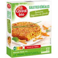 Céréal Bio Céréal bio Galette épeautre et légumes du jardin 200g