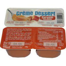 DISCOUNT Crème dessert au caramel 4x125g