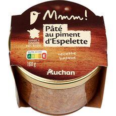 Gourmet AUCHAN MMM! Pâté au piment d'Espelette