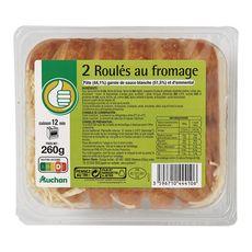 AUCHAN ESSENTIEL Auchan Essentiel Roulé au fromage 260g 2 pièces 260g