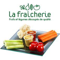 La fraîcherie Plateau de légumes apéritifs 500g