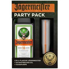 Jagermeister liqueur 35° -1,75l party kit