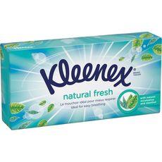 KLEENEX Kleenex Boîte de mouchoirs menthe eucalyptus x72 72 mouchoirs