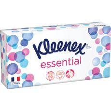 KLEENEX Kleenex Boîte de mouchoirs essential x80 80 mouchoirs