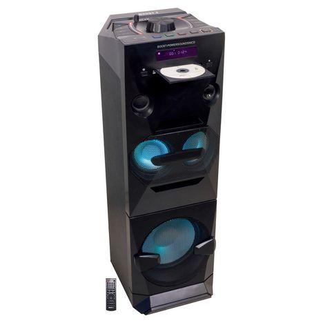 BOOST Enceinte active 3 voies Bluetooth Powersound500CD - Noir