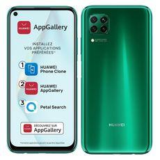 HUAWEI Smartphone P40 lite 128 Go 6.4 pouces Vert 4G Double port NanoSim