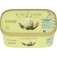 Or CARTE D'OR Crème glacée pistache de Californie