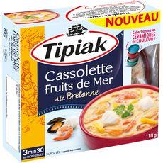 Tipiak Cassolette fruits de mer à la bretonne 110g