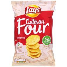 LAY'S Chips nature cuites au four 130g