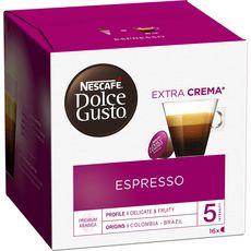 NESCAFE Espresso capsules compatible Dolce Gusto 16 capsules 96g