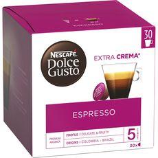 NESCAFE Espresso capsules compatible Dolce Gusto 30 capsules 165g