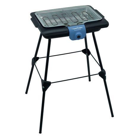 MOULINEX Barbecue sur pieds BG135812 - Noir