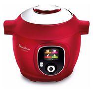 MOULINEX  Multicuiseur intelligent COOKEO Rouge 180 recettes - CE85A10