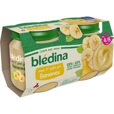 Blédina BLEDINA Mon 1er petit pot dessert bananes dès 4 mois