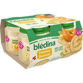 Blédina Blédina Petit pot dessert pommes et bananes dès 4 mois 4x130g