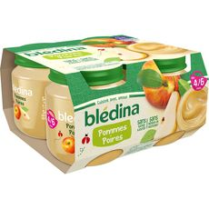 Blédina Petit pot dessert pomme poire dès 4 mois 4x130g