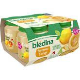 Blédina Blédina Petit pot dessert pommes et coings dès 4 mois 4x130g