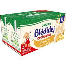 Blédina BLEDINA Blédidej céréales lactées biscuité vanille dès 12 mois