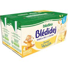 Blédina BLEDINA Blédidej céréales lactées vanille dès 6 mois