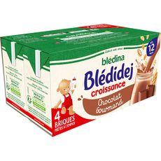 Blédina BLEDINA Blédidej céréales lactées chocolat gourmand dès 12 mois
