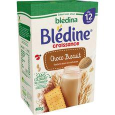 Blédina Blédine céréales saveur choco-biscuitée en poudre dès 12 mois 400g