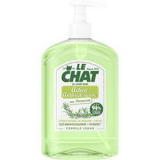 LE CHAT Gel lavant mains vegan action antibactérienne au romarin 500 ml