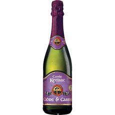 KERISAC Kerisac Cidre bouché breton cassis 3% 75cl 75cl